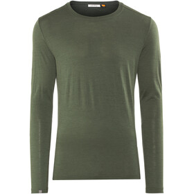 Lundhags Merino Light LS Tee Men Dark Forest Green